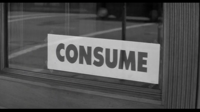 映画 ゼイリブ『THEY LIVE』消費しろ 監督:ジョン・カーペンター,主役:ロディ・パイパー consume