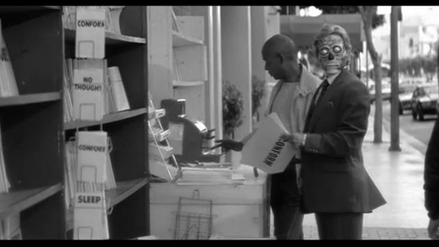 映画 ゼイリブ『THEY LIVE』ファーストコンタクト宇宙人1監督:ジョン・カーペンター,主役:ロディ・パイパー